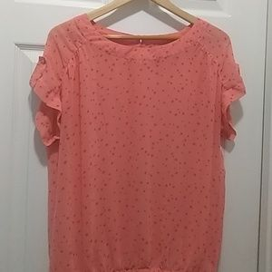 Ana top with star print XL